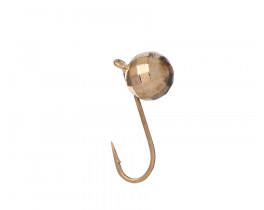 Мормышка вольфрамовая Дробинка с ушком граненая