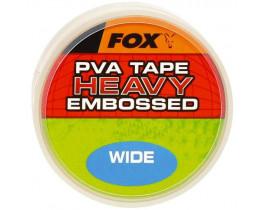 Лента PVA Fox Wide 20m Heavy Tape Embossed 10mm