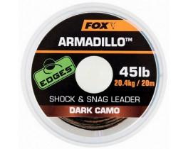 Поводковый материал Fox Armadillo Dark Camo 20m