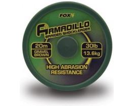Поводковый материал Fox Armadillo Brown 20m