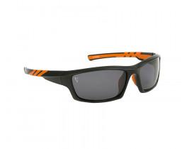 Очки поляризационные FOX Chunk Black/Orange Frame Grey Lenses