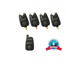 Набор сигнализаторов поклёвки WORLD4CARP FA212-4