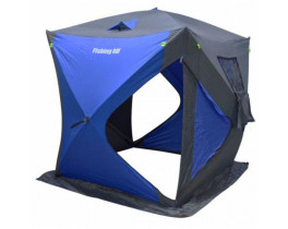 "Палатка зимняя Куб ""Fishing ROI"" LEGEND (150*150*165см) grey-blue"