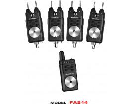 Набор сигнализаторов поклевки WORLD4CARP FA214-4