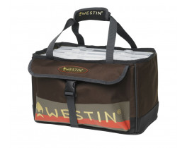 Сумка Westin W3 Open Top Loader Medium Grizzly Brown/Black + 4 коробки