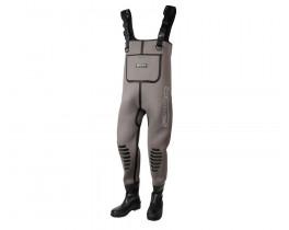 Забродный костюм неопрен SPRO Chest Wader Rubber Boots 5 мм