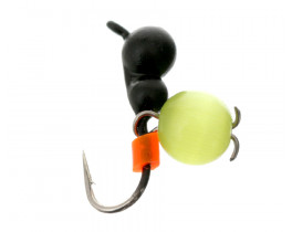 Мормышка вольфрамовая Flagman Муравей с ушком крашеный + кошачий глаз