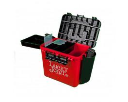 Ящик зимний Lucky John пластиковый высокий