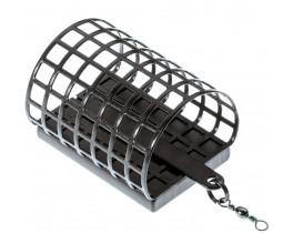 Кормушка Jaxon Eko полукруглая открытая металл.