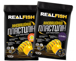 Пластилин Real Fish 500g
