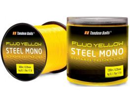 Леска Tandem Baits Steel Mono Fluo жёлтая