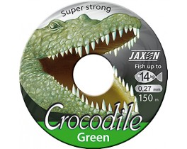 Леска Jaxon Crocodile Green
