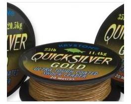 Поводковый материал Kryston Quicksilver Gold