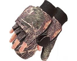Перчатки-рукавицы комуфляж