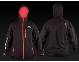 Rage Hooded Black Soft Shell Jacket L куртка