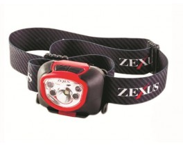 Фонарь налобный Zexus ZX-270 BK 180 lm ipx 4