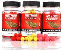 Бойлы Winner Method/Feeder Fluo Pop-Up Micro Boilies 8mm 35g