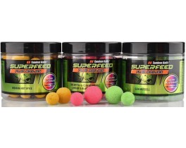 Бойлы Tandem Baits Super Feed Fluo Semi Buoyant Boilies 14mm/18mm Mix 90g