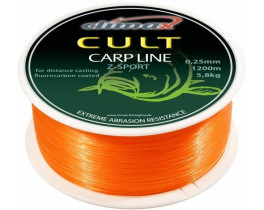 Леска Climax Cult Carp Line Z-Sport orange
